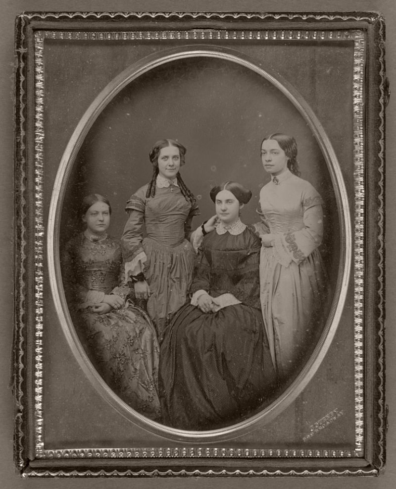 Portrait of Four Women], American, about 1852 - 1857