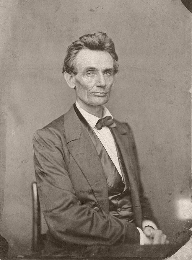 May 20, 1860 – William Marsh One of five photographs taken by William Marsh for Marcus Lawrence Ward. Although many in the East had read Lincoln's impassioned speeches, few had actually seen the Representative from Illinois.