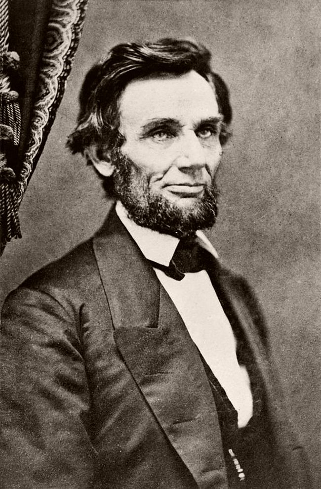 February 9, 1861 – Christopher S. German This photograph was taken two days before he left Springfield en route to Washington, DC, for his inauguration.
