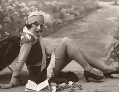 Vintage: Portraits of Lucette Desmoulins by Biederer Brothers (1920s)