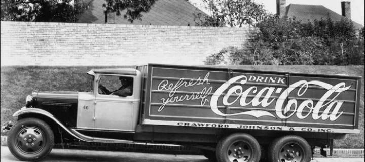 Coca-Cola Delivery Trucks