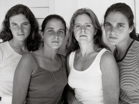 Nicholas Nixon shoots four sisters every year for 40 years