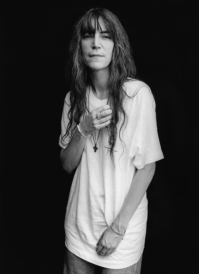 1996 --- Singer Patti Smith --- Image by © Christopher Felver/CORBIS