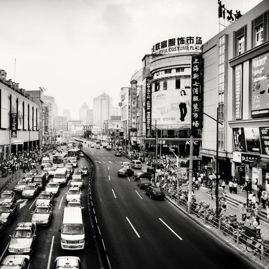 © Martin Stavars Rush Hours I, Shanghai, China, 2010
