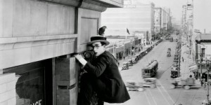 """Images from """"Safety Last!"""" (1923)"""