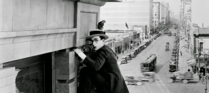 "Images from ""Safety Last!"" (1923)"