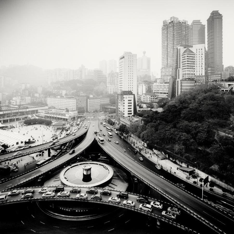 © Martin Stavars Triangle, Chongqing, China, 2012