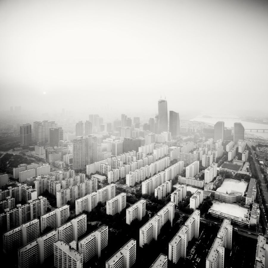 © Martin Stavars Yeouido at Dusk, Seoul, South Korea, 2011