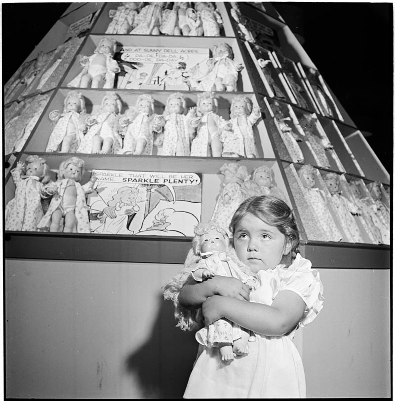 Girl with Dolls – 1947
