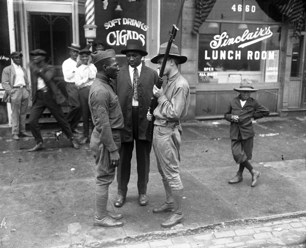 Vintage Chicago S 1919 Race Riot Monovisions