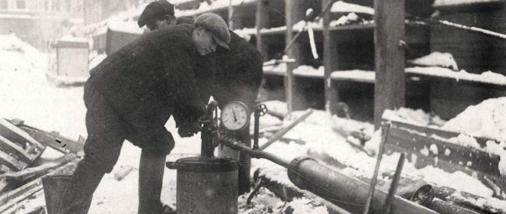 Vintage: Moscow Subway Construction (1930s)