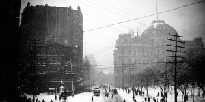 Vintage: The Great Blizzard of 1888