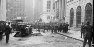 Vintage: Wall Street bombing in 1920