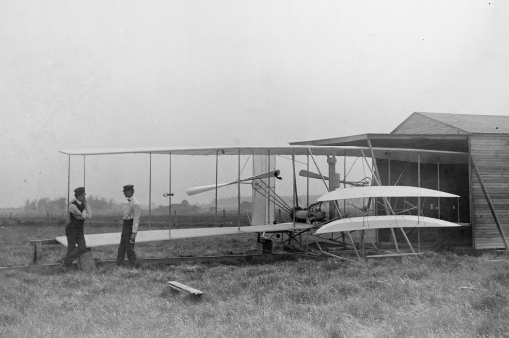 Wright-Brothers-First-Flight-in-1903-11