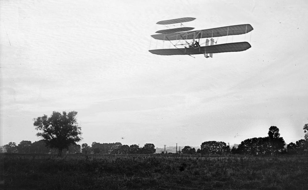 Wright-Brothers-First-Flight-in-1903-12