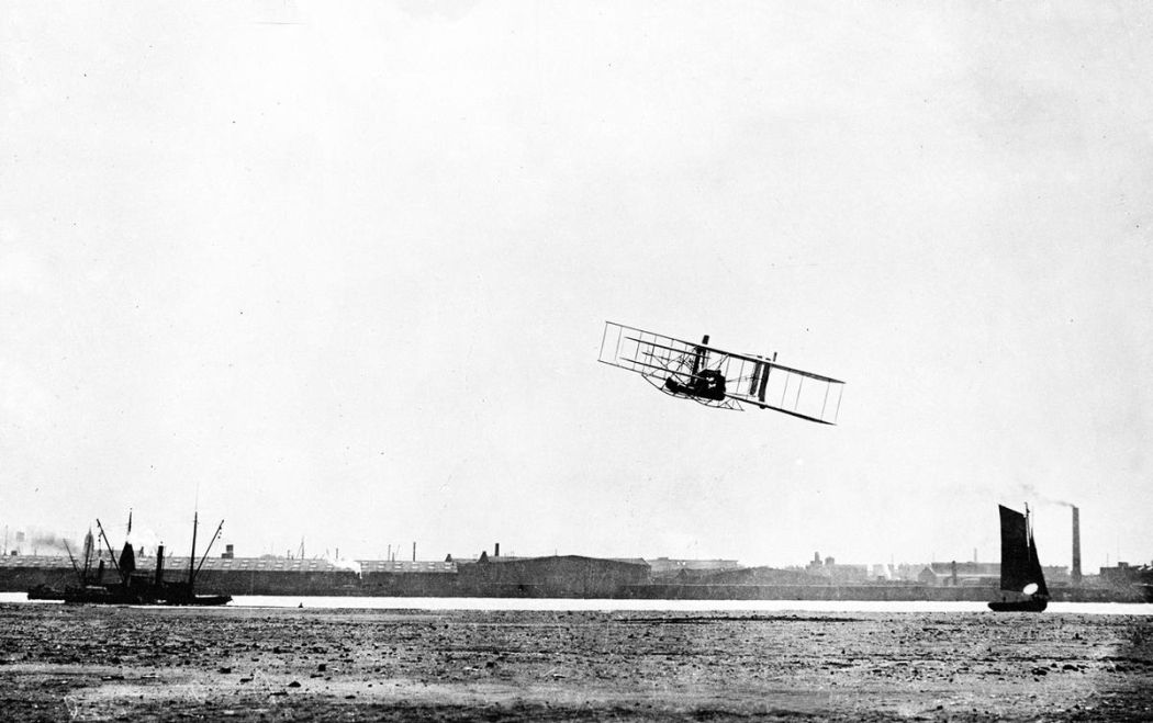 Wright-Brothers-First-Flight-in-1903-16