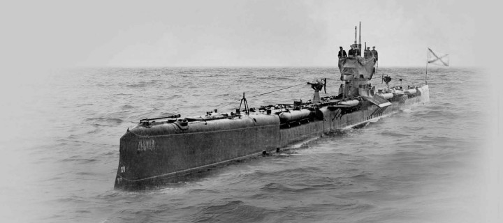 Vintage: Imperial Russian Submarines (1910s)