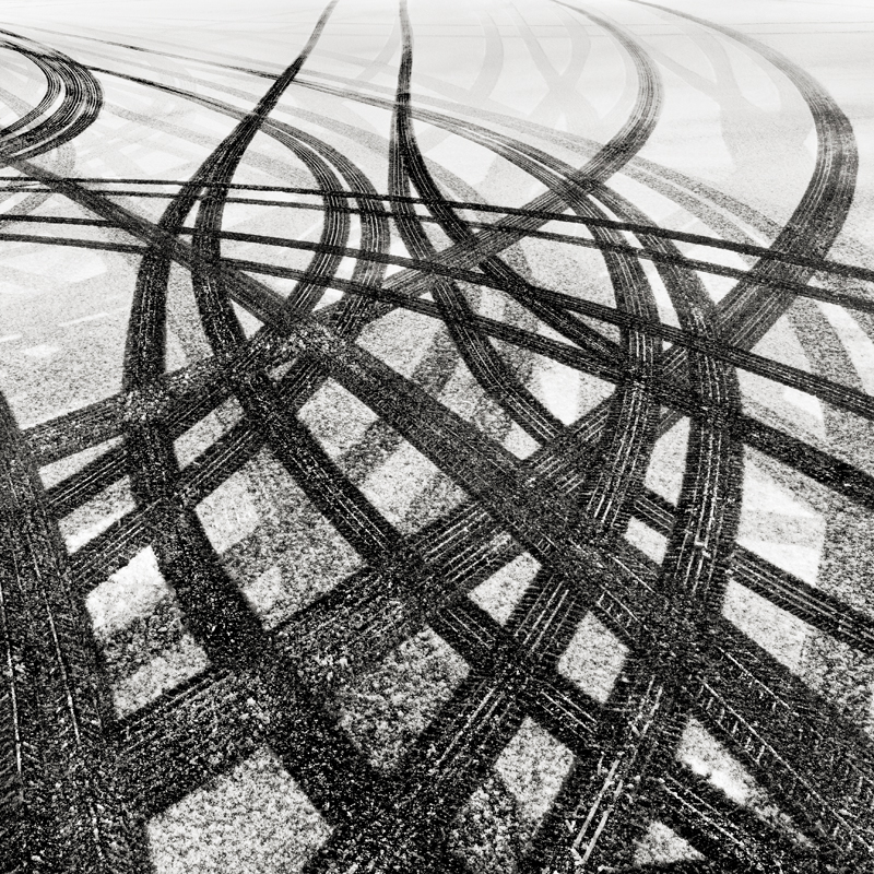 Tracks In Snow 2 © Joseph Romeo – 2nd place Winner in Abstract, Professional