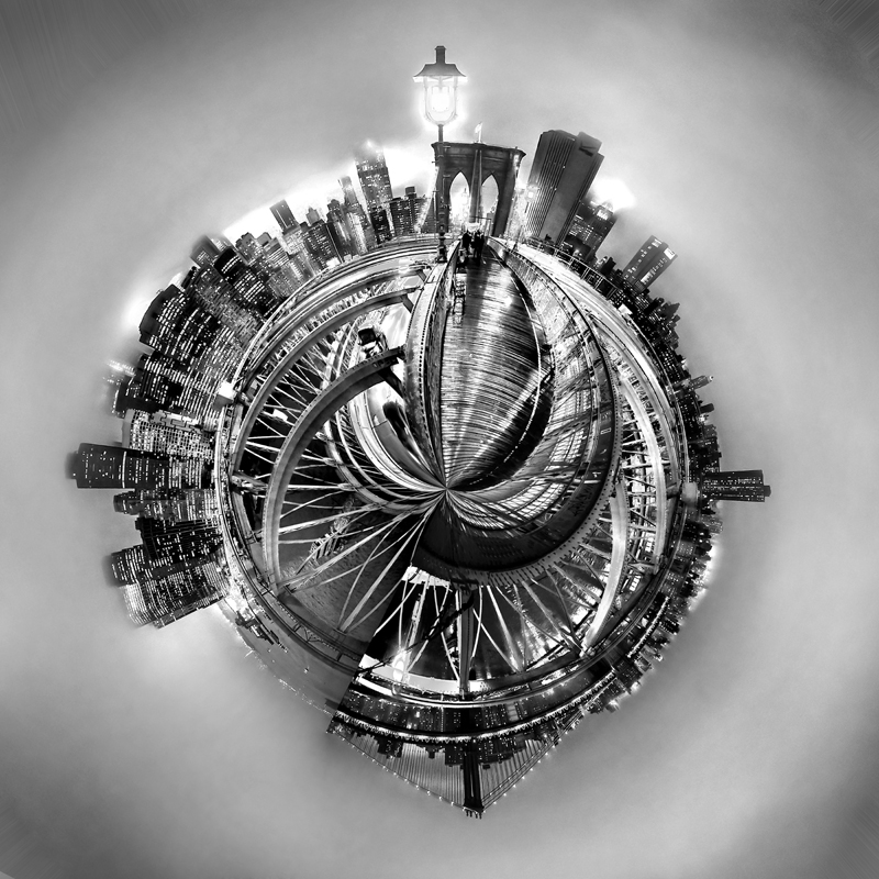 Manhattan World © Az Jackson – 3rd place Winner in Photomanipulation, Professional