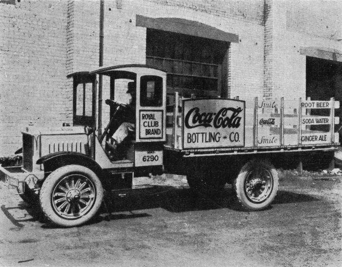 Coca Cola Delivery Trucks Monovisions