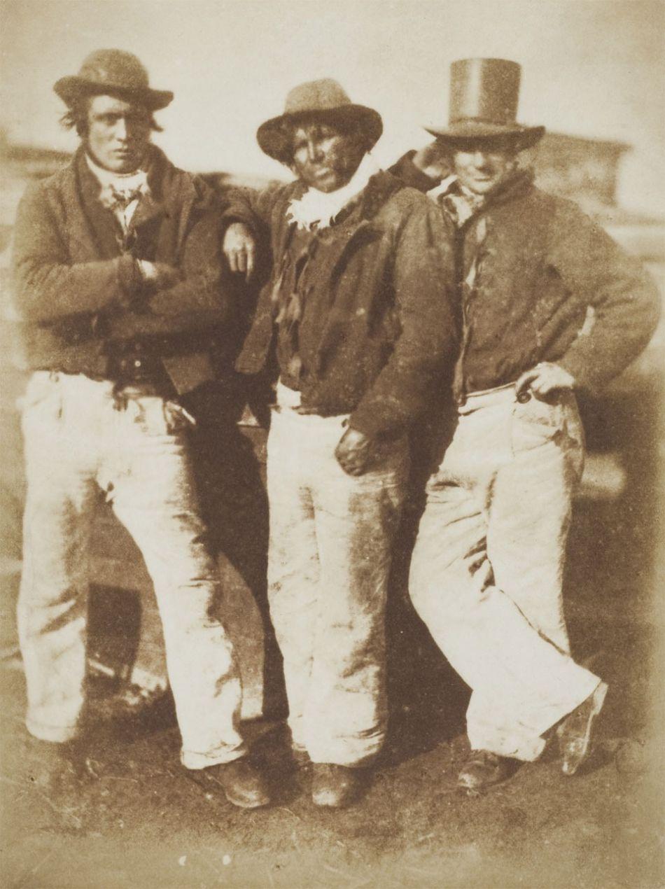 D. O. Hill and Robert Adamson, Newhaven fishermen, circa 1845