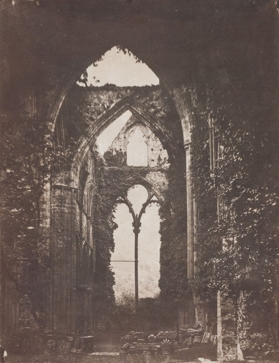 John Wheeley Gough Gutch Abbey Ruins, circa 1858
