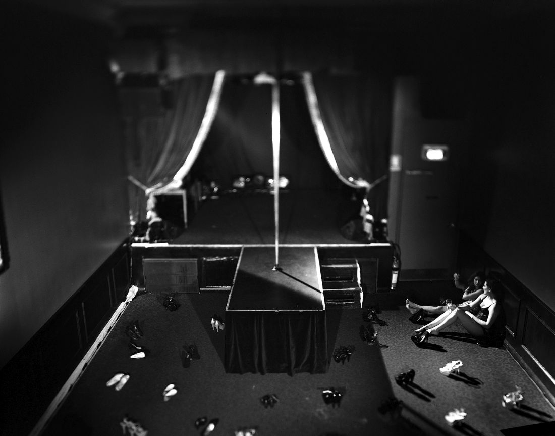Pole Dancing stage