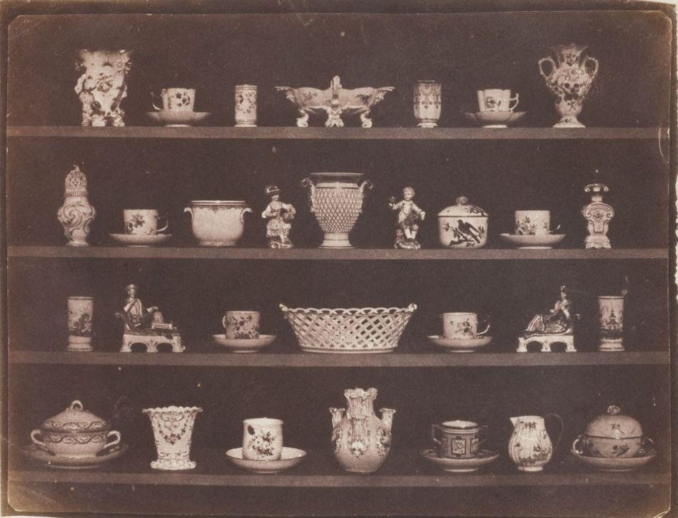 William Henry Fox Talbot, Study of China, 1844