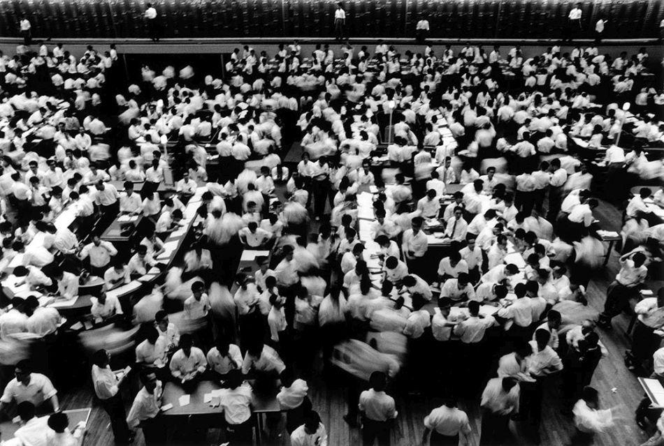 William-Klein-Tokyo-Stock-Exchange-tirage-photo