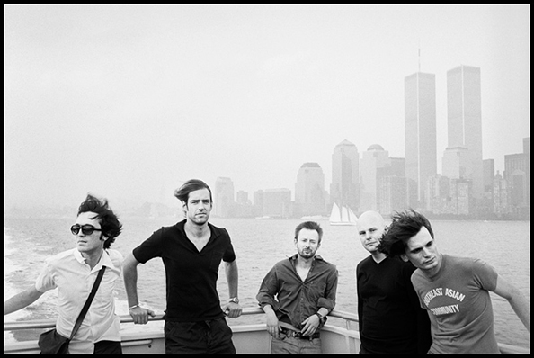 Danny Clinch Radiohead (With Twin Towers), New York, 2001