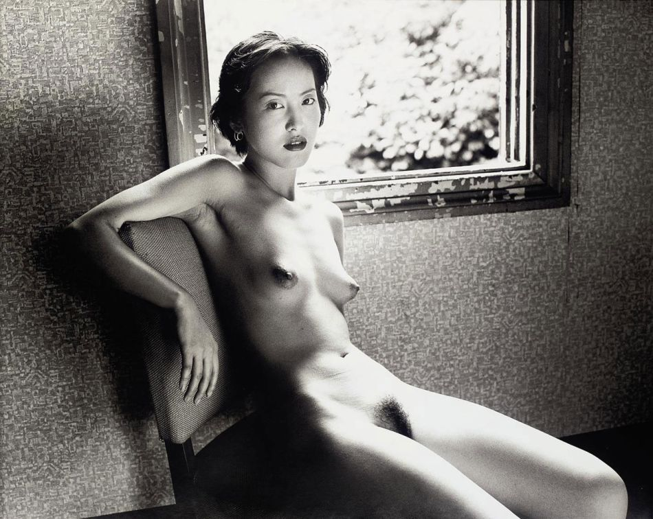 Nobuyoshi Araki untitled, nude on white, 2007