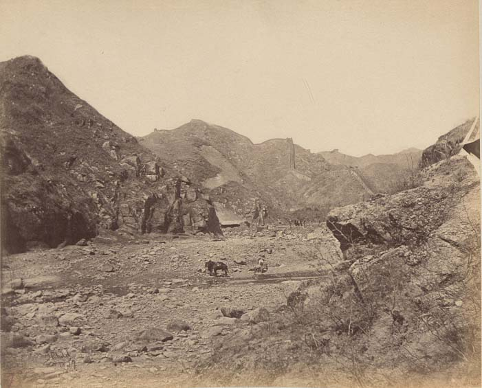China-1889-1891-Nankow Pass, on way to Great Wall