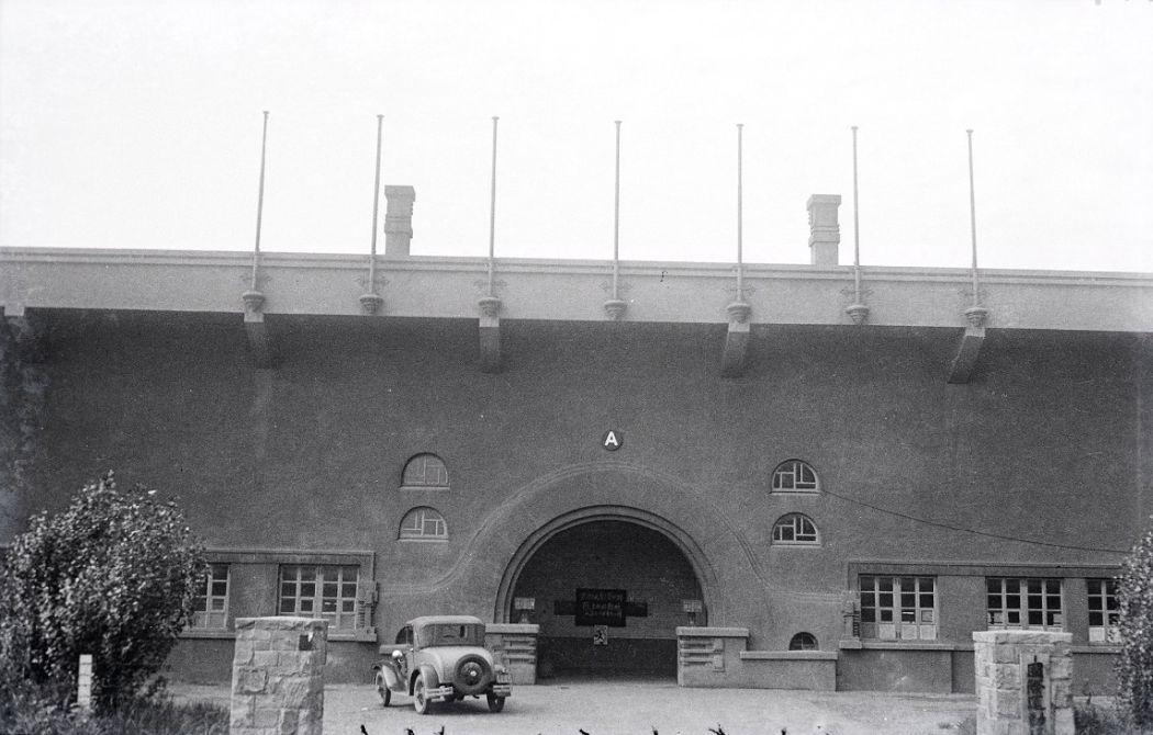 Manchuria-Northeast-Asia-in-1930s-Japanese Station in Mukden