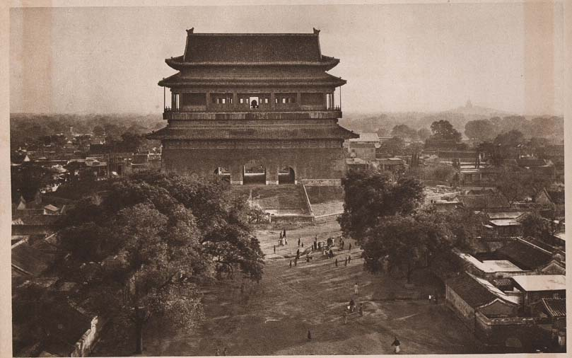 Peking-China-in-1920s-The Drum Tower