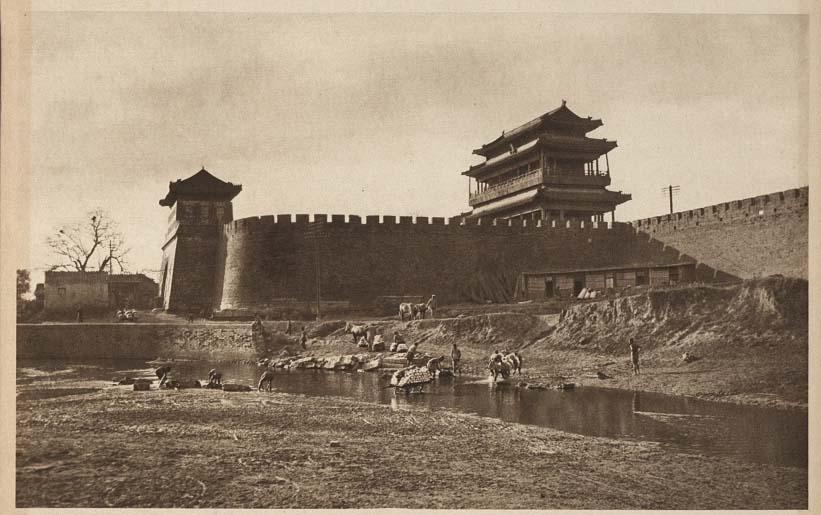 Peking-China-in-1920s-The Yung Ting Men