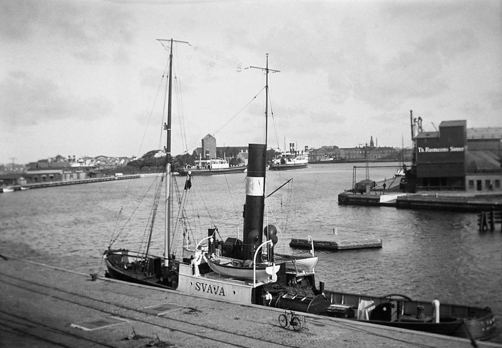 Port of Korsoer, Denmark, 1933