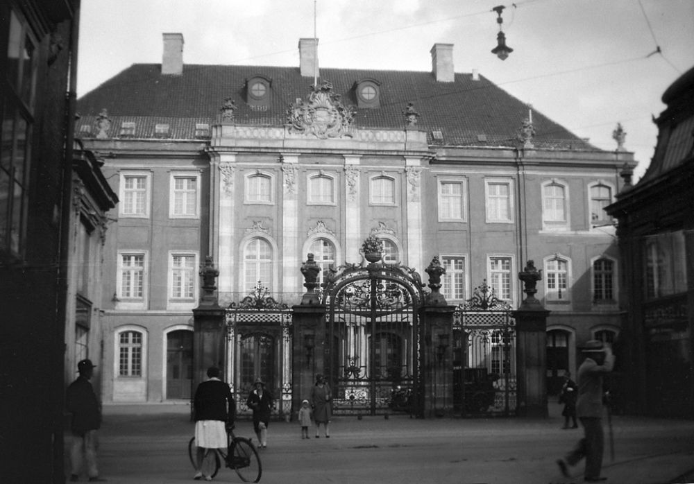 The Odd Fellow Palae / Palace at 28, Bredgade street in Copenhagen, built in 1751-1755 as a private home for a noble family.