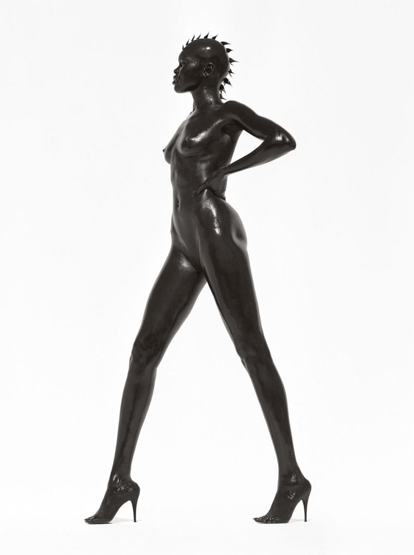 © Herb Ritts Alek Wek, Los Angeles 1998