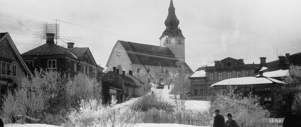 Vintage: Swedish churches (1100-1900 AD)