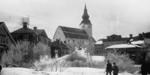 Vintage: Swedish churches (1100-1900 AD)