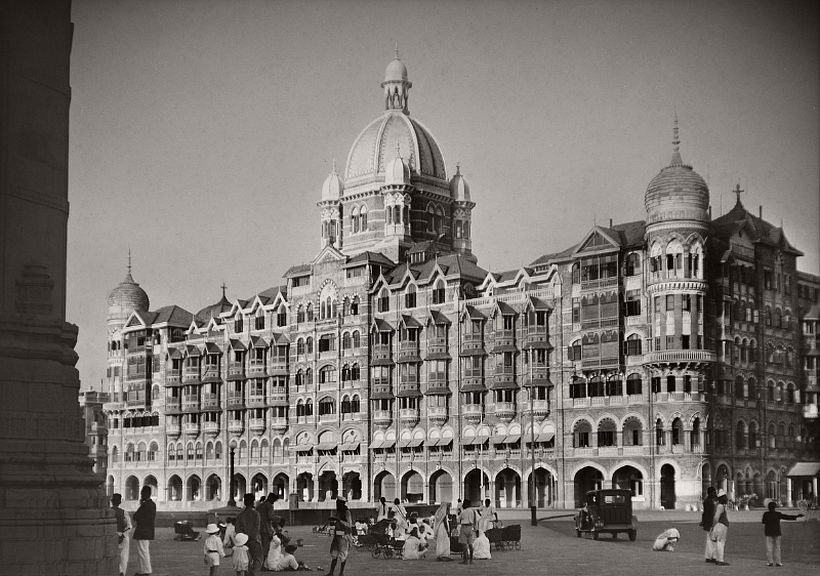 The Taj Mahal Hotel, Bombay, 1929, photo: Emil Otto Hoppé