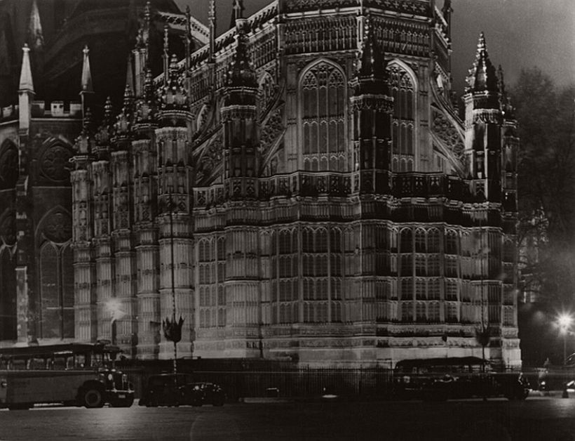 Westminster Abbey at Night, London, 1925, photo: Emil Otto Hoppé