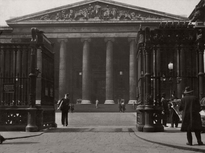 British Museum, London, 1929, photo: Emil Otto Hoppé