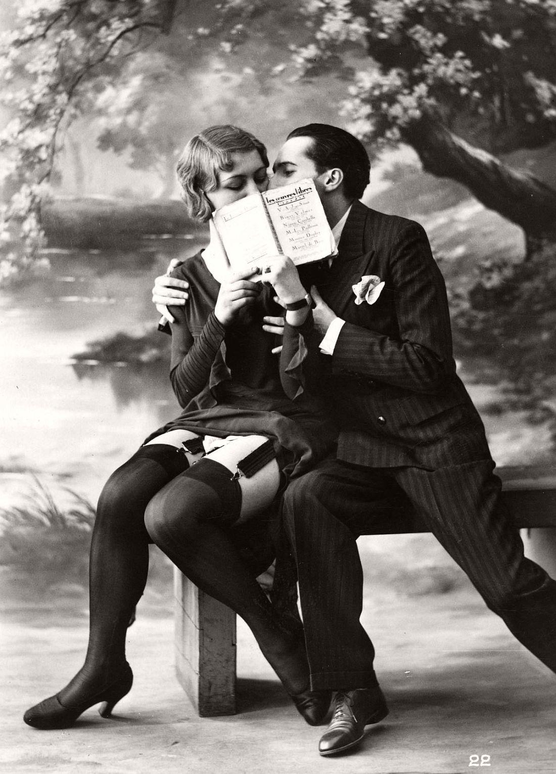 Vintage French Erotic Postcards 1920s Monovisions