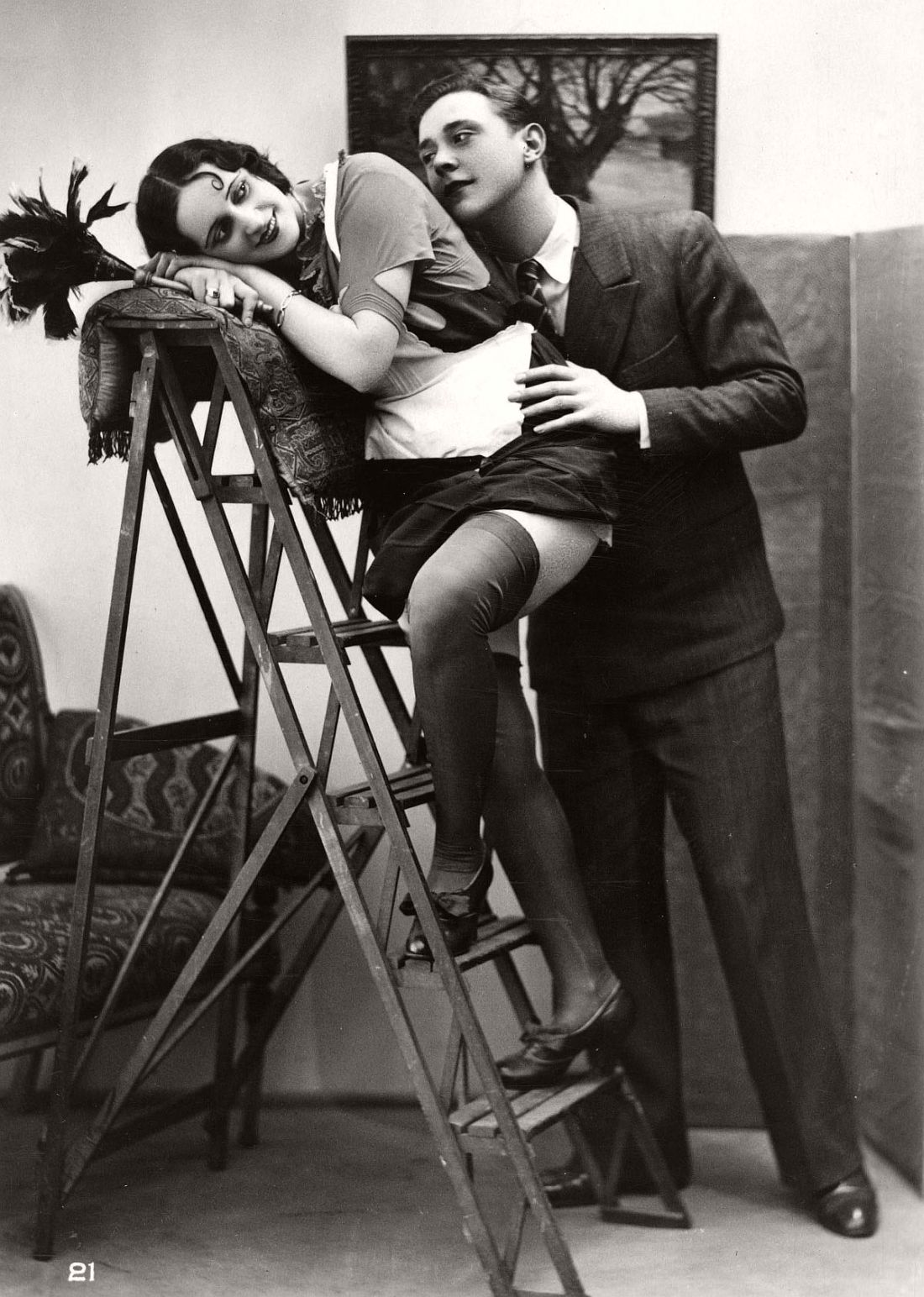vintage erotic photo naked women