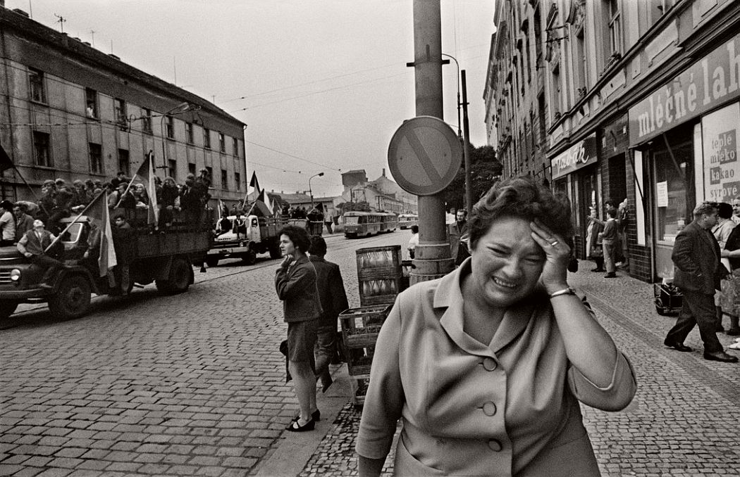 CZECHOSLOVAKIA. Prague. August 1968. Invasion by Warsaw Pact troops.