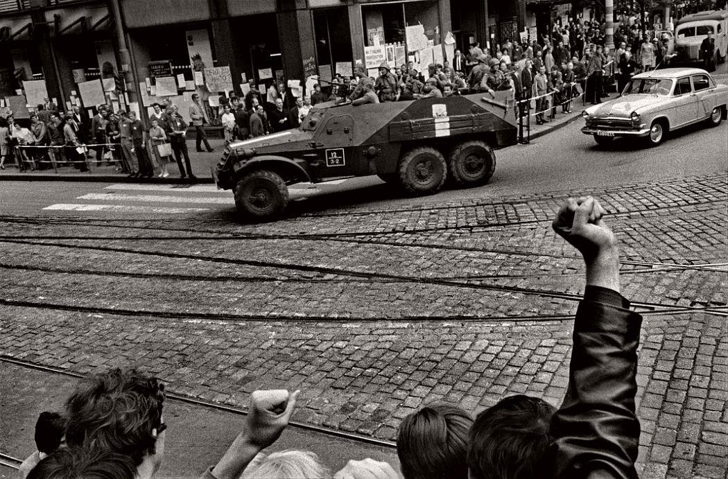 CZECHOSLOVAKIA. Prague. August 1968. Warsaw Pact troops invade Prague.