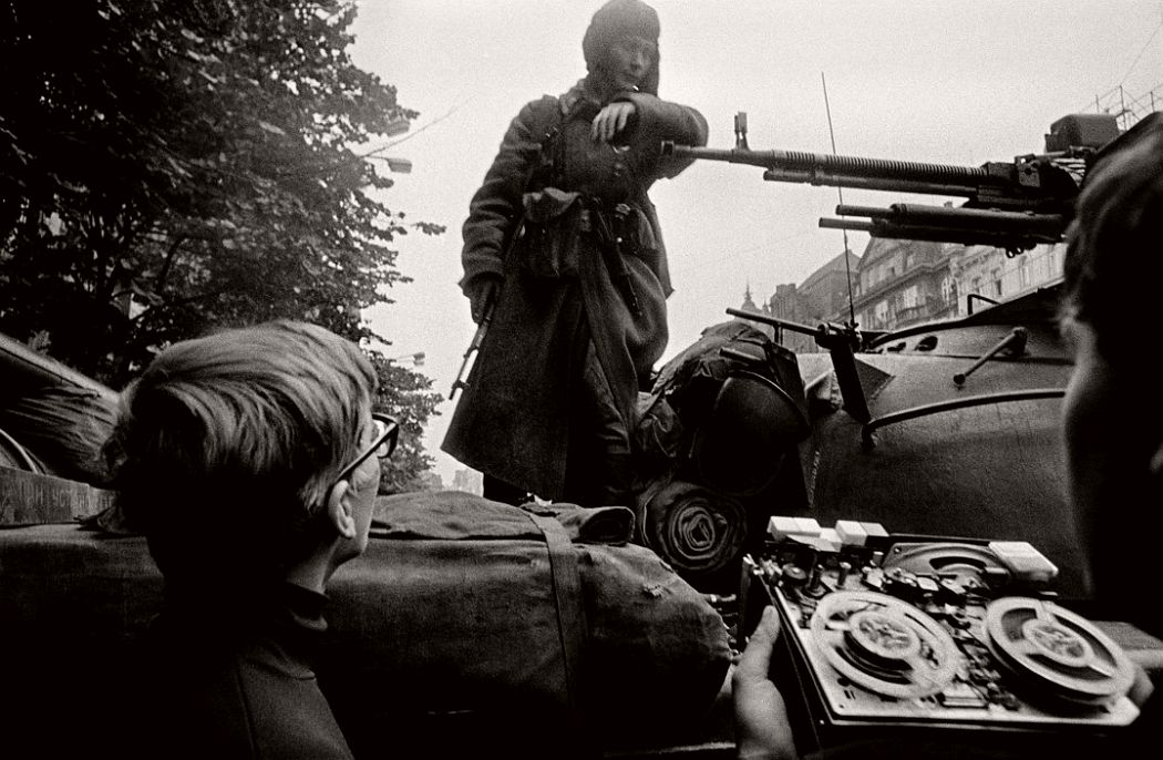 CZECHOSLOVAKIA. Prague. August 1968. Warsaw Pact troops invasion.