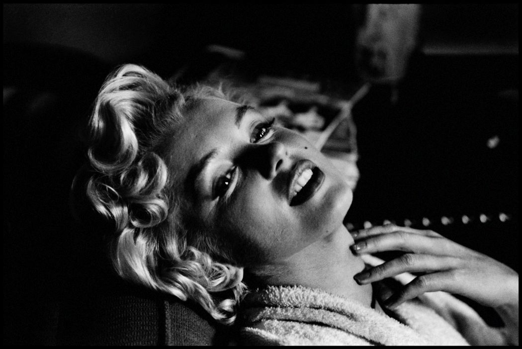 Marilyn Monroe by Elliott Erwitt