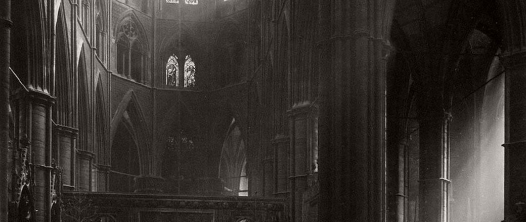 Biography: Architecture photographer Frederick H. Evans